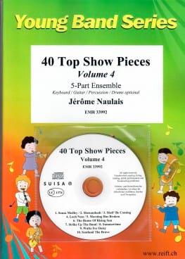 40 Top Show Pieces - Volume 4 Jérôme Naulais Partition laflutedepan