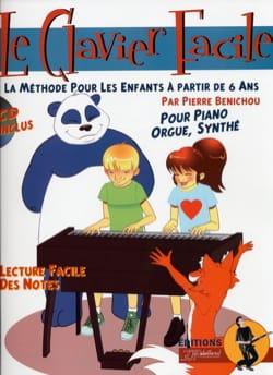 Le Clavier Facile Pierre Bénichou Partition Piano - laflutedepan