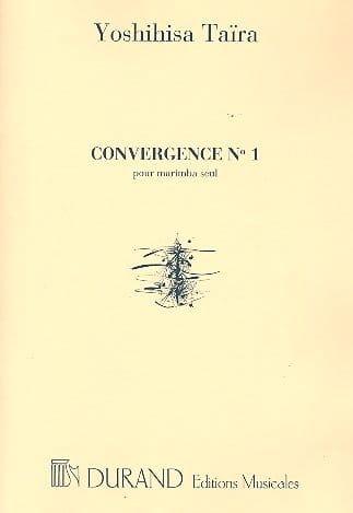 Convergence 1 - Yoshihisa Taïra - Partition - laflutedepan.com