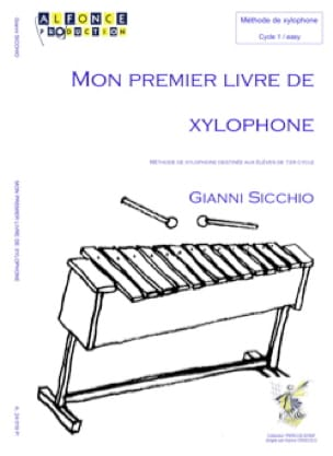 Mon Premier Livre de Xylophone - Gianni Sicchio - laflutedepan.com