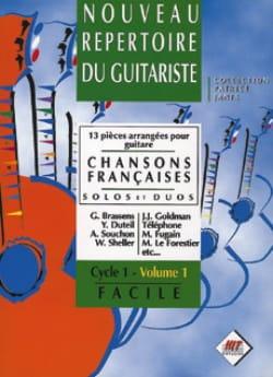 Nouveau Repertoire du Guitariste Volume 1 - Chansons Françaises laflutedepan