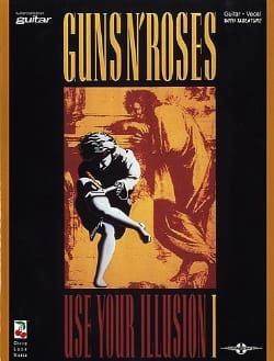 Use Your Illusion Volume 1 Guns N' Roses Partition laflutedepan