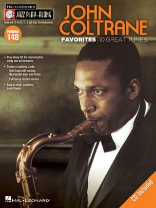 John Coltrane - Jazz play-along volumen 148 - Favoritos de John Coltrane - Partition - di-arezzo.es