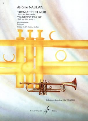 Trompette Plaisir Volume 1 - 24 Etudes Jérôme Naulais laflutedepan