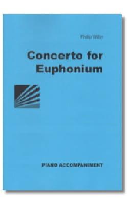Concerto for euphonium Philip Wilby Partition Tuba - laflutedepan