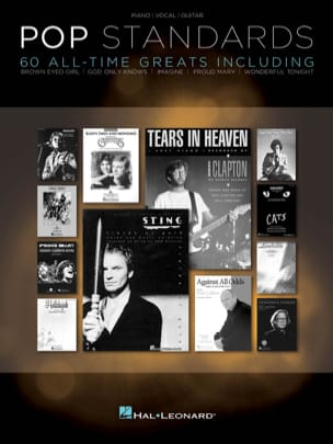 Pop standards - 60 All-time greats - Partition - laflutedepan.com