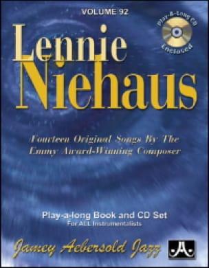 Volume 92 - Lennie Niehaus - METHODE AEBERSOLD - laflutedepan.com