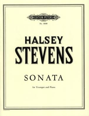 Sonata Halsey Stevens Partition Trompette - laflutedepan