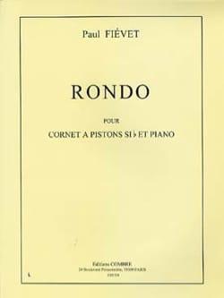 Rondo - Paul Fiévet - Partition - Trompette - laflutedepan.com