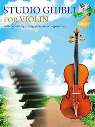 Joe Hisaishi - Studio Ghibli - Violin - Partition - di-arezzo.co.uk