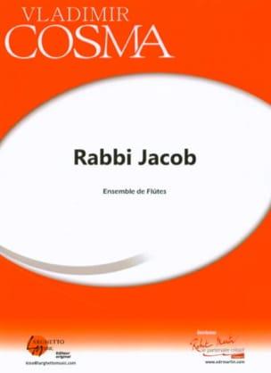 Rabbi Jacob Vladimir Cosma Partition Flûte traversière - laflutedepan