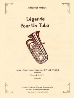 Légende Pour Un Tuba Michel Hulot Partition Tuba - laflutedepan