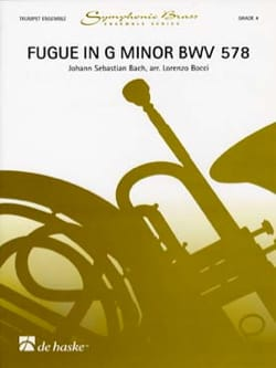 Fugue In G Minor BWV 578 BACH Partition Trompette - laflutedepan