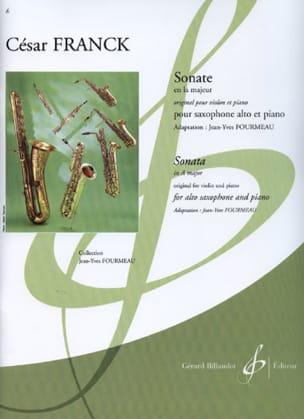 Sonate En la Majeur Violon FRANCK Partition Saxophone - laflutedepan