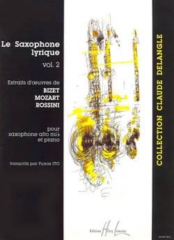 Le Saxophone Lyrique Volume 2 Partition Saxophone - laflutedepan