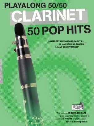 Playalong 50/50 - Clarinet - 50 Pop hits - laflutedepan.com