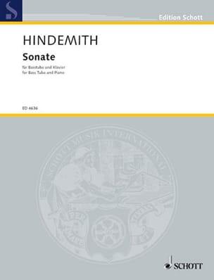 Sonate HINDEMITH Partition Tuba - laflutedepan