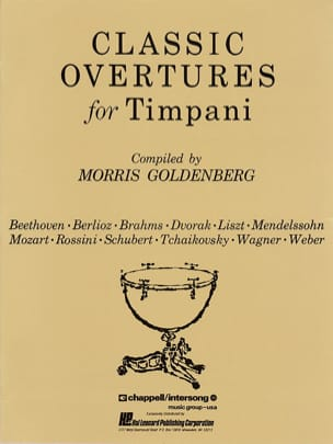 Classic Overtures For Timpani Partition Timbales - laflutedepan