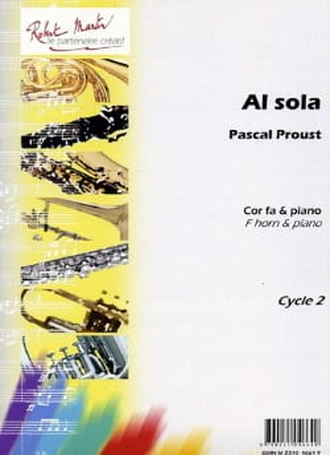 Al sola Pascal Proust Partition Cor - laflutedepan