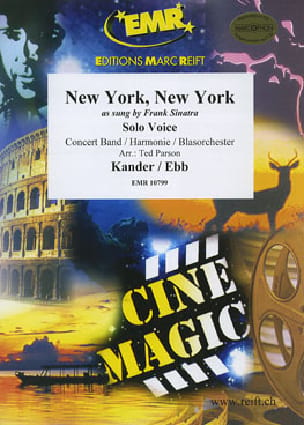 New York, New York - Fred / Kander John Ebb - laflutedepan.com