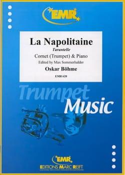 La Napolitaine, Tarantelle Opus 25 Oskar Böhme Partition laflutedepan