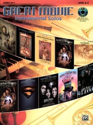 Great movie instrumental solos Partition Cor - laflutedepan