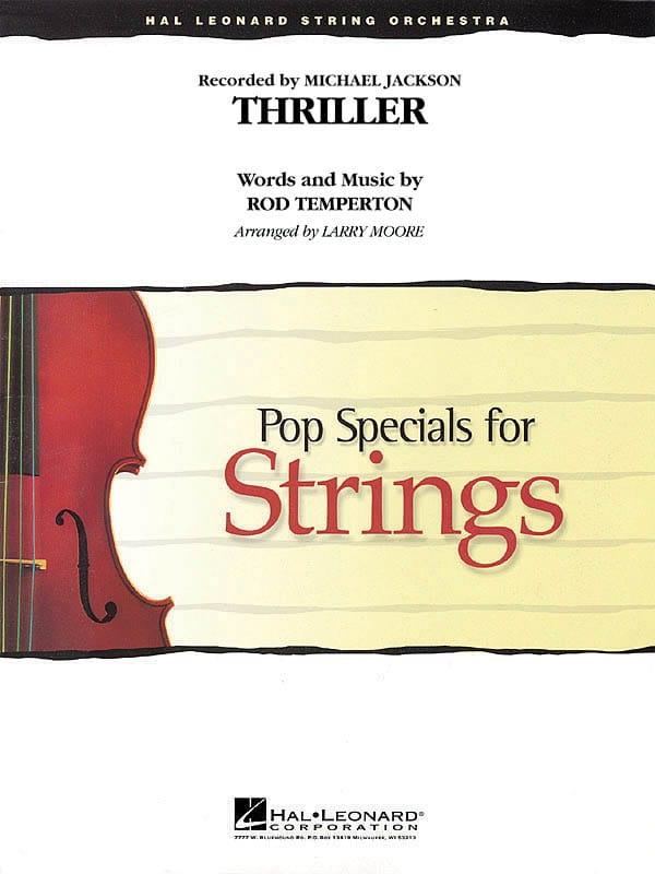 Thriller - Pop Specials for Strings - laflutedepan.com