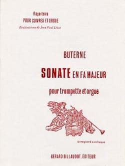 Sonate En Fa Majeur Jean-Baptiste Buterne Partition laflutedepan