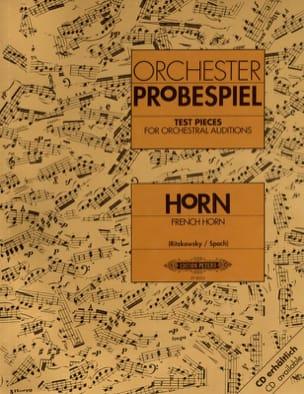 Orchester Probespiel Partition Cor - laflutedepan