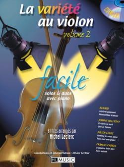 - La variedad de violín Volumen 2 - Fácil - Partition - di-arezzo.es