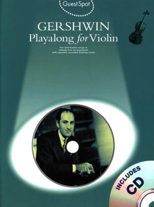 Guest Spot - Playalong For Violin GERSHWIN Partition laflutedepan