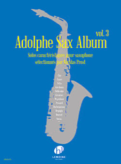 - Adolphe Sax Album - Volume 3 - Partition - di-arezzo.it
