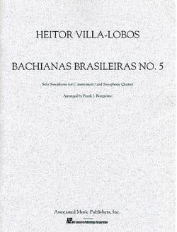 Bachianas Brasileiras N° 5 VILLA-LOBOS Partition laflutedepan