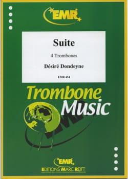 Suite Désiré Dondeyne Partition Trombone - laflutedepan