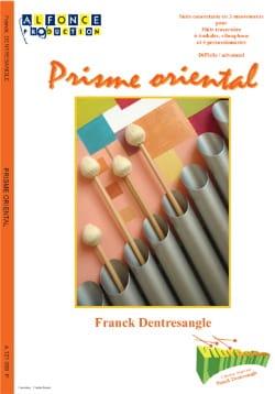 Prisme Oriental Franck Dentresangle Partition laflutedepan
