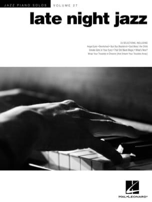 Jazz Piano Solos Series Volume 27 - Late night jazz laflutedepan