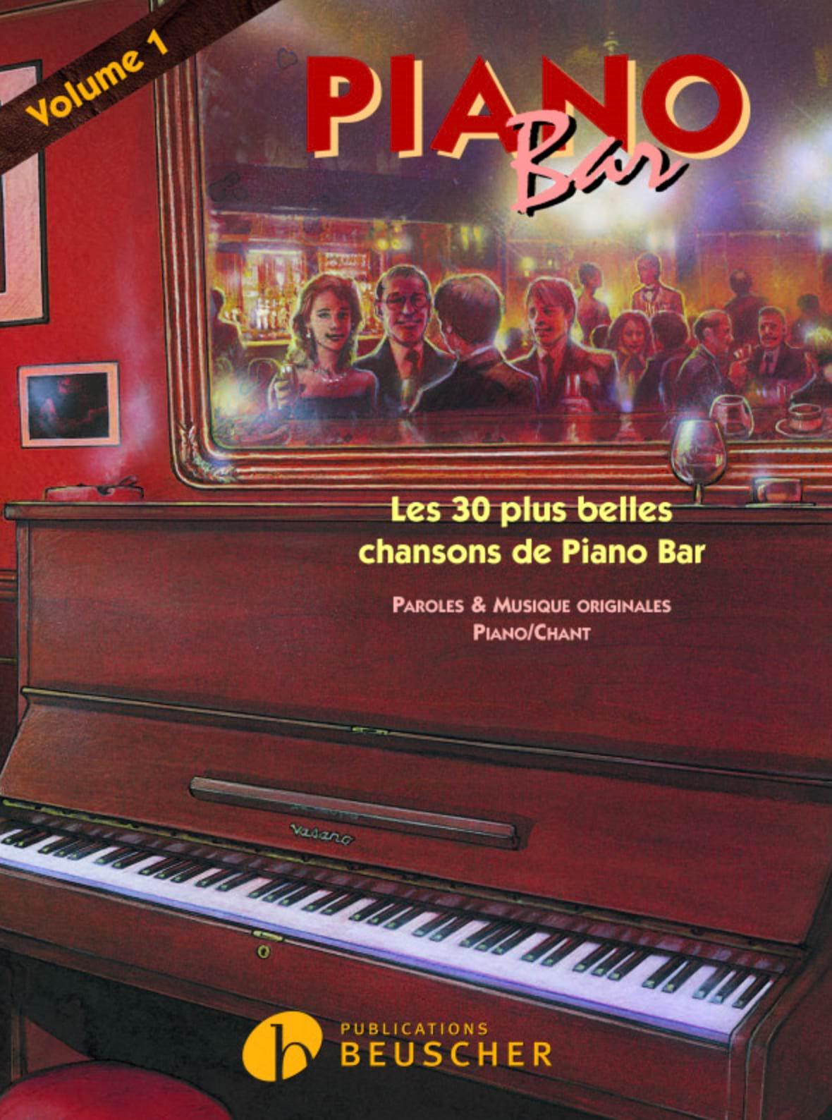 Piano Bar Volume 1 - Partition - Jazz - laflutedepan.com