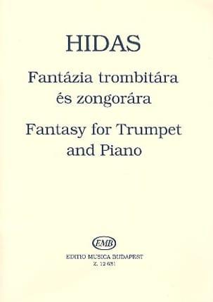 Fantasy For Trumpet Frigyes Hidas Partition Trompette - laflutedepan