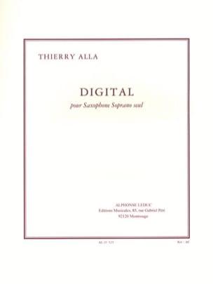 Digital Thierry Alla Partition Saxophone - laflutedepan