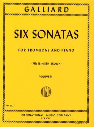 Six Sonatas Volume 2 John E. Galliard Partition laflutedepan