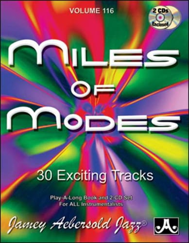 Volume 116 - Miles Of Modes - METHODE AEBERSOLD - laflutedepan.com