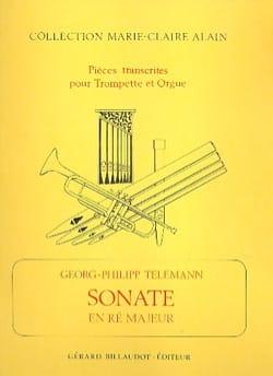 Sonate En Ré Majeur TELEMANN Partition Trompette - laflutedepan