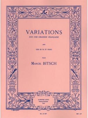 Variations Sur Une Chanson Française Marcel Bitsch laflutedepan