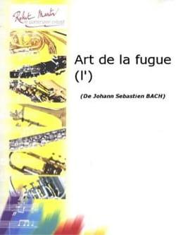 L'art de la Fugue BACH Partition Saxophone - laflutedepan
