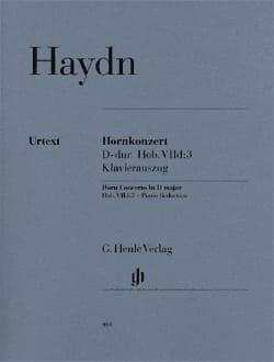 Concerto pour Cor en Ré Majeur HAYDN Partition Cor - laflutedepan