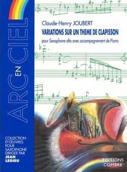 Variations Sur Un Thème de Clapisson Claude-Henry Joubert laflutedepan