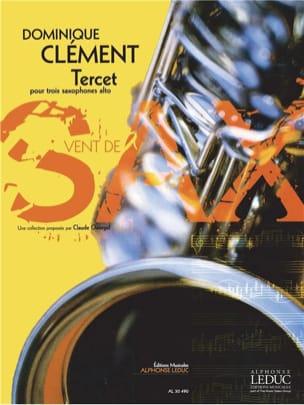 Tercet Dominique Clément Partition Saxophone - laflutedepan