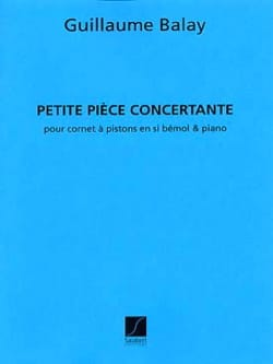 Petite Pièce Concertante - Guillaume Balay - laflutedepan.com