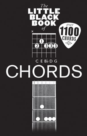 The little black book of Chords - Partition - laflutedepan.com