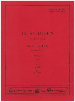 16 Etudes Moyen - Emile Cochereau - Partition - Cor - laflutedepan.com